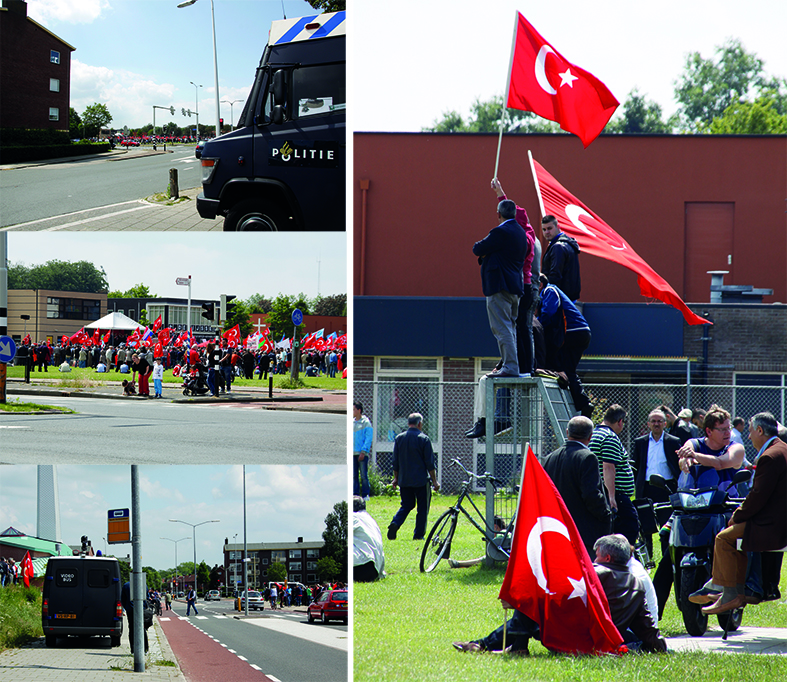 Demonstratie Turken
